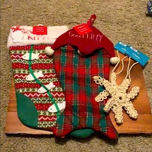 Brand new Cat stockings bundle. Never used